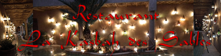 MDS - Restaurant La Kasbah des Sables