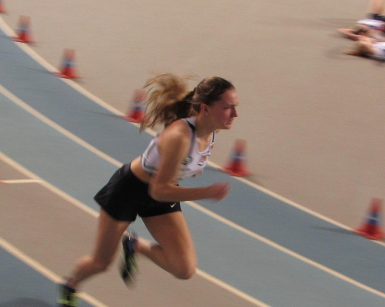 Emma Van Laer - zilver 400 m - 27.02.2016