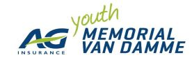 "Uitslag ""Youth Memorial Van Damme"" – 05.09.2014 – Brussel"