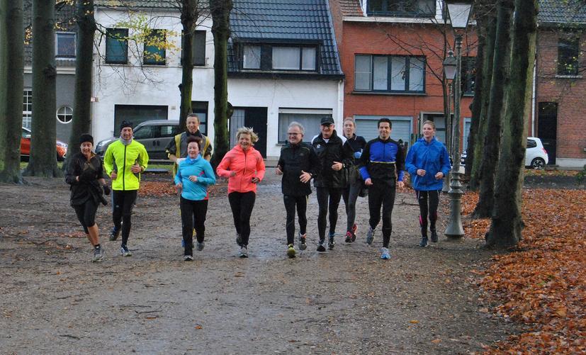Zandloper Oude Landen - Jogging Team - 22.11.2015